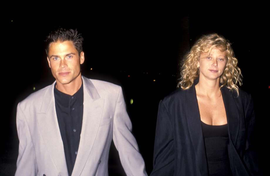 "Rob Lowe and Sheryl Berkoff during ""Wild At Heart"" Los Angeles premiere in 1990.  Photo: Ron Galella"