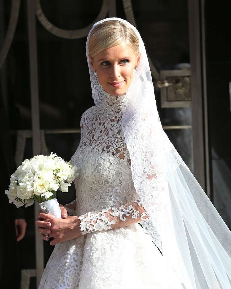 Nicky Hilton leaves Claridges ahead of her wedding on July 10, 2015 in London, England.  (Photo by Neil Mockford/Alex Huckle/GC Images) Photo: Neil Mockford/Alex Huckle, GC Images