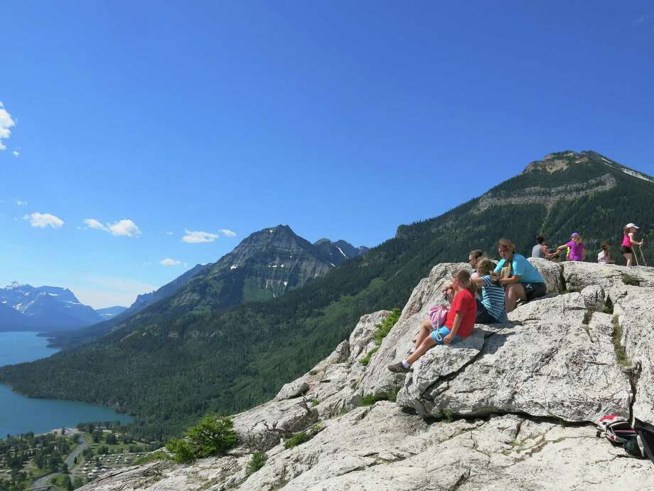 A climb up the Bear's Hump is a perfect family activity in Waterton Lakes, Alberta. It's a bit difficult, but not overly strenuous. Photo: Jim Byers