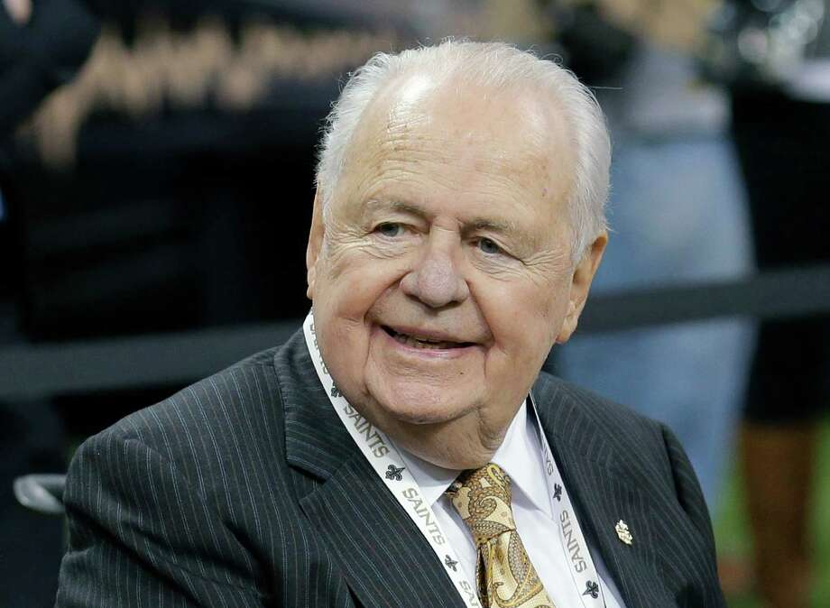 Tom Benson's appeal states Renee Benson did not prove Tom Benson had breached his duties as trustee of the Shirley Benson trust. It also states that the probate court had not given adequate notice that receivership was a possibility. Photo: Associated Press File Photo / FR170136 AP