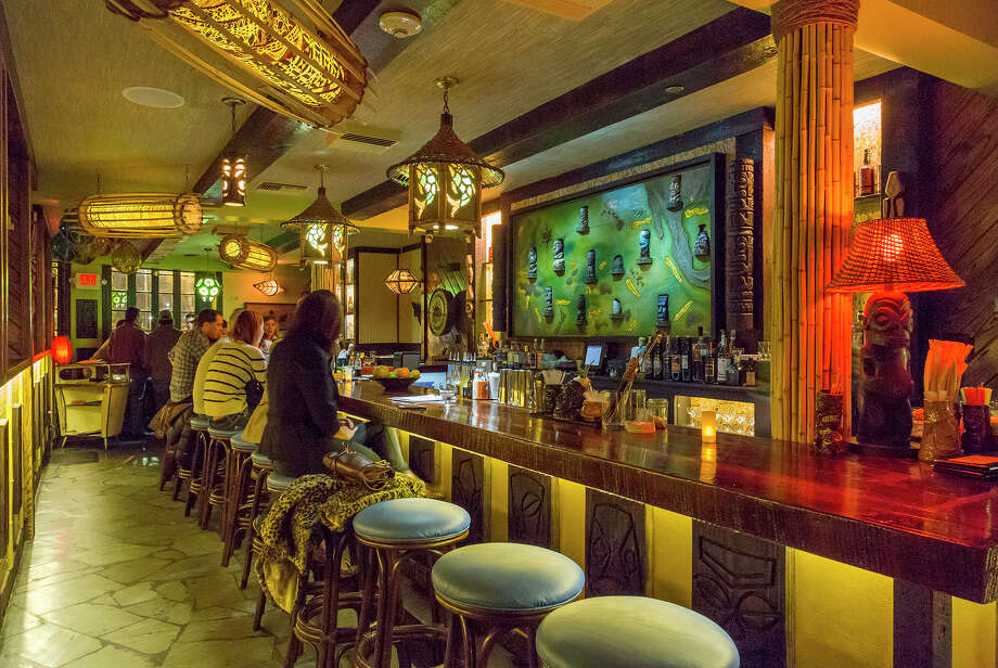 Inside bar at Beachbum Berry's Latitude 29 bar in New Orleans. Photo: Will Crocket, Owner-Operator / ©Will Crocker 2015