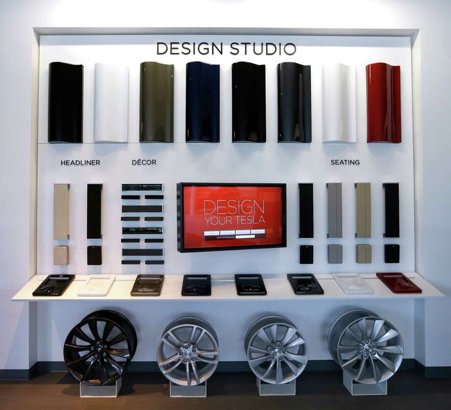 Tesla's new design studio, with an accompanying service center, is at 14820 Interstate 45 North. Photo: Melissa Phillip, Staff / © 2015  Houston Chronicle