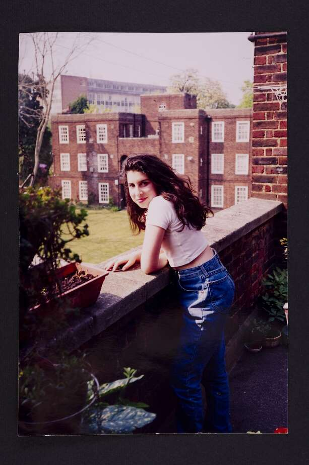 A young Amy outside her Grandma's flat in Southgate. Photographer unknown © The Winehouse family. Amy Winehouse: A Family Portrait. On view July 30–November 1, 2015. The Contemporary Jewish Museum, San Francisco. Photo: Mark Okoh, Camera Press London, Courtesy CJM