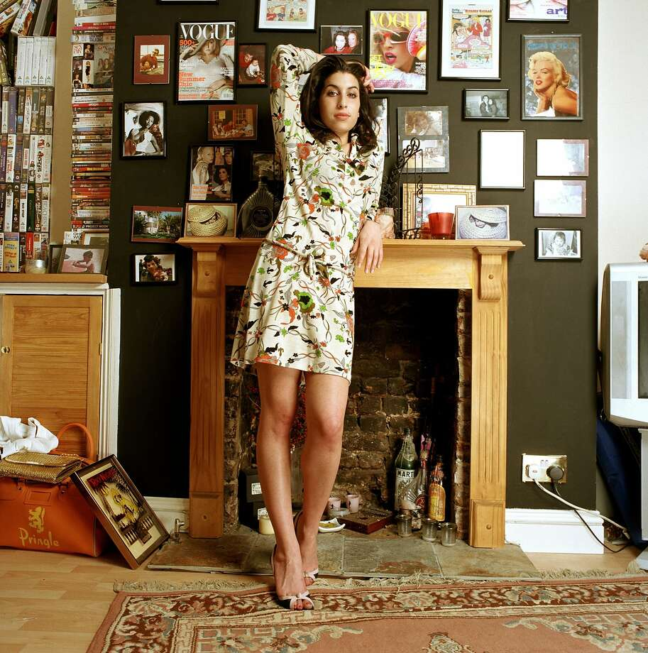 Amy Winehouse: A Family Portrait is on view July 30-November 1, 2015 at The Contemporary Jewish Museum, San Francisco.  Photo: Mark Okoh, Camera Press London, Courtesy CJM