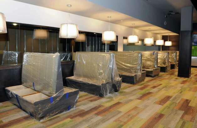 Sports theater which will have many screens at Latitude 360 in Crossgates Mall on Thursday, March 19, 2015 in Guilderland, N.Y. (Lori Van Buren / Times Union) ORG XMIT: MER2015071016571784 Photo: Lori Van Buren / 00031037A