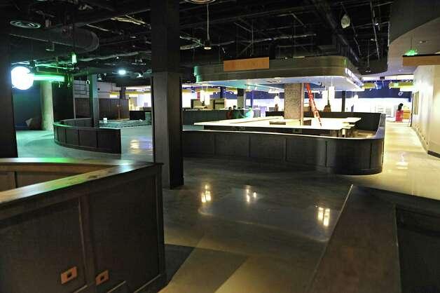 Main bar area at Latitude 360 in Crossgates Mall on Thursday, March 19, 2015 in Guilderland, N.Y. (Lori Van Buren / Times Union) ORG XMIT: MER2015071016583489 Photo: Lori Van Buren / 00031037A