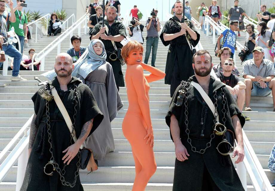 SAN DIEGO, CA - JULY 10:  Guests in cosplay attend Comic-Con International 2015 on July 10, 2015 in San Diego, California. Photo: Matt Cowan, Getty Images / 2015 Getty Images