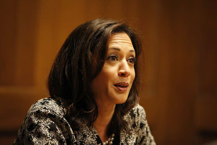 State Attorney General Kamala Harris backs sheriffs' choice. Photo: Pete Kiehart, The Chronicle