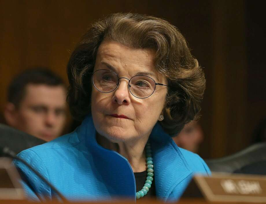 WASHINGTON, DC - JULY 08:  Sen. Dianne Feinstein (D-CA) participates in a Senate Judiciary Committee hearing on Capitol Hill, July 8, 2015 in Washington, DC. The committee was hearing testimony on encryption technology, and the balance between public safety and privacy.  (Photo by Mark Wilson/Getty Images) Photo: Mark Wilson, Getty Images