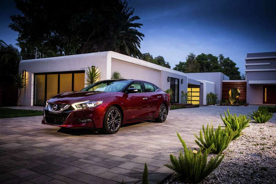 Nissan upped the ante with the new 2016 Maxima, a look-alike of the Sport Sedan Concept with slightly modified features. Photo: Nissan, NissanNews.com  / © 2015 Nissan