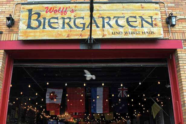 The bar that started the Broadway resurgence Wolff's Biergarten in a former Albany firehouse on Wednesday June 17, 2015 in Albany, N.Y.  (Michael P. Farrell/Times Union)