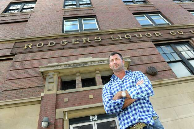 Bill Barber at 960 Broadway on Thursday, July 2, 2015, in Albany, N.Y. Barber bought and will renovate the former Rodgers Liquor Co. warehouse into 25 apartments. (Cindy Schultz / Times Union) Photo: Cindy Schultz / 00032463A