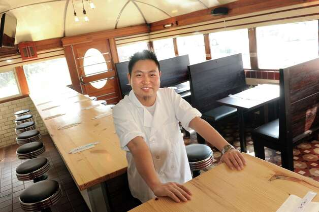 Dave Zheng owner and chef of Tanpopo, opening in former the Miss Albany Diner, on Thursday, July 2, 2015, in Albany, N.Y. (Cindy Schultz / Times Union) Photo: Cindy Schultz / 00032464A