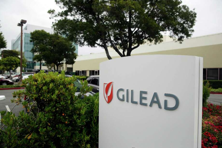 This photo taken Thursday, July 9, 2015, is the headquarters of Gilead Sciences in Foster City, Calif.  Harvoni, the newest pill from California-based Gilead Sciences, accounted for more than three-fourths of the prescriptions filled for hepatitis-C drugs in the first three months of this year, according to IMS Health.  (AP Photo/Eric Risberg) Photo: Eric Risberg, STF / AP