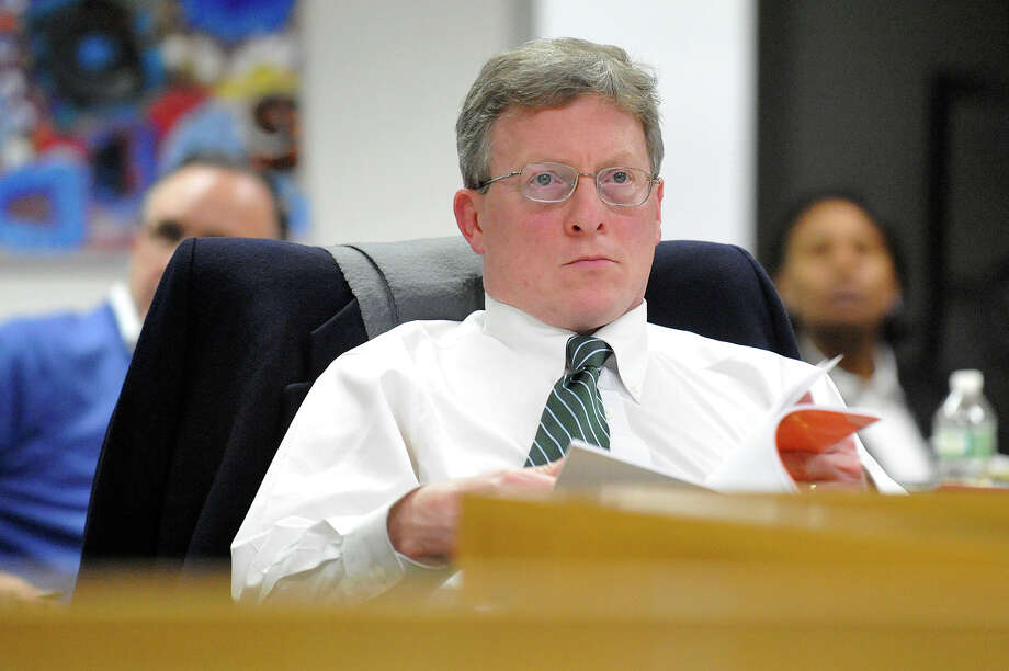 Stamford school board member John Leydon, Jr. has resigned his seat. Photo: Jason Rearick / Jason Rearick / Stamford Advocate