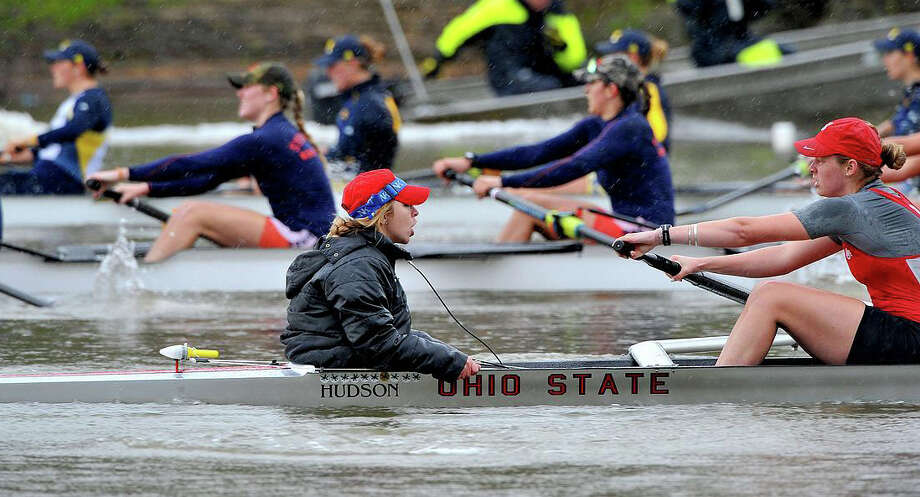 Westport's Sami Jurofsky won three national championships as part of the Ohio State rowing team. Photo: Ohio State University Athletics /Contributed Photo / Westport News Contributed