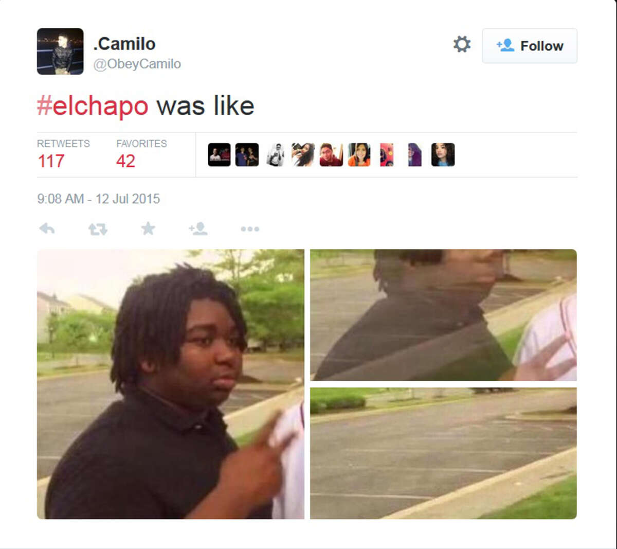 """""""#elchapo was like"""""""