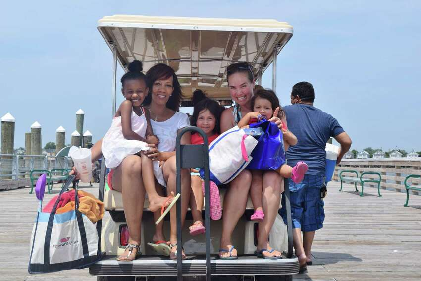 A year after reopening, Bridgeport's Pleasure Beach added a playground to its waterfront pavilion. Were you SEEN enjoying the new playground and the beach on July 12, 2015?