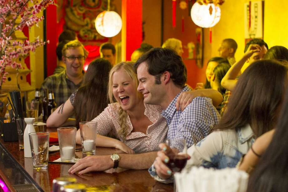 """Amy Schumer and Bill Hader in """"Trainwreck."""" (Photo courtesy Universal Pictures/TNS) Photo: Handout, McClatchy-Tribune News Service"""