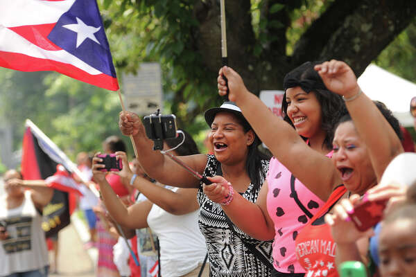 The Puerto Rican Day Parade on Park Avenue in Bridgeport, Conn. on Sunday, July 12, 2015.