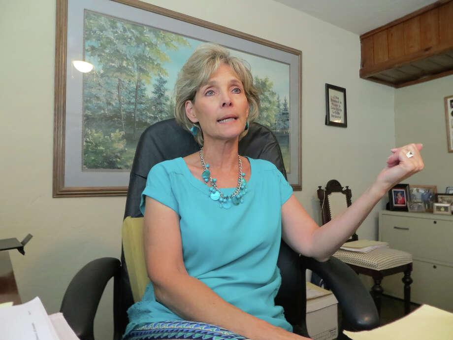 "New Kerrville Councilwoman Bonnie White is described as ""not the go-along type."" Photo: Zeke MacCormack /San Antonio Express-News / San Antonio Express-News"