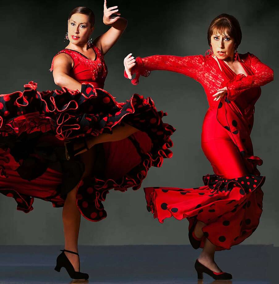 """Note: Carole Acuna should have an accent above the """"e"""" and a trill above the """"n.""""  Pena Pachamama should also have a trill above the """"n.""""   Photo: Carole and Carolina   Flamenco dancers Carole Acuna (left) and her mother, Ballet Flamenco founder Carolina Lugo, perform every Saturday beginning July 11th and ending August 29th 2015 at Pena Pachamama in North Beach. Lugo and Acuna have danced there for five and a half years. Photo by Matt Haber. Photo: Matt Haber."""