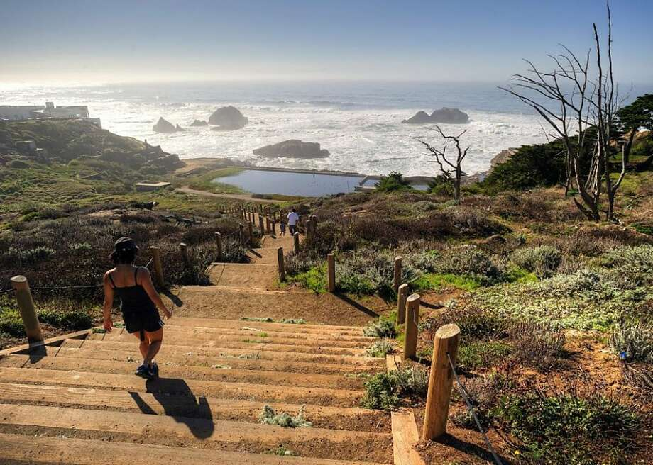 THINGS TO DO IN SAN FRANCISCO WHEN THE WEATHER IS GORGEOUSHike the Lands End Trail, from the Cliff House to the Palace of the Legion of Honor. Don't miss the walk down to the Sutro Baths ruins (pictured) and stop in the Lands End Lookout Visitor Center and Cafe for a bowl of clam chowder. Photo: Mason Cummings/Parks Conservancy