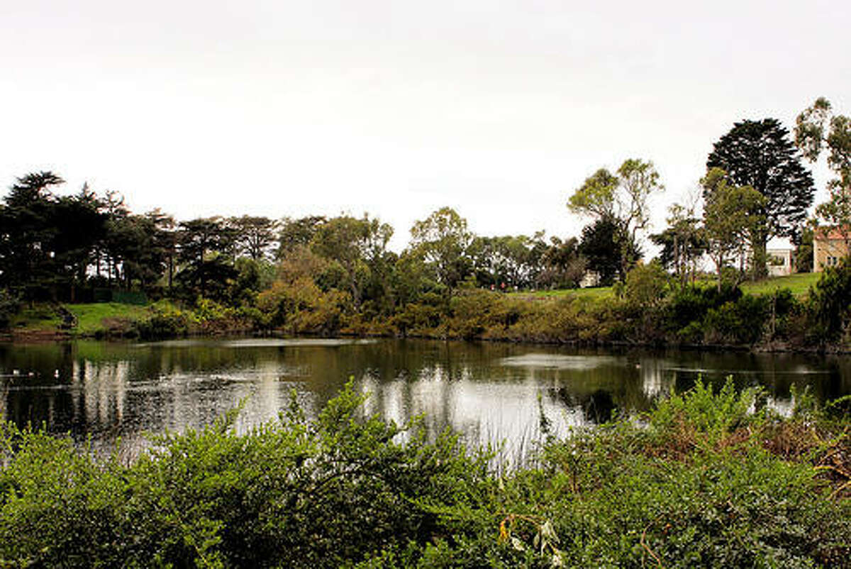 File photo of Mountain Lake in the southern edge of the Presidio.