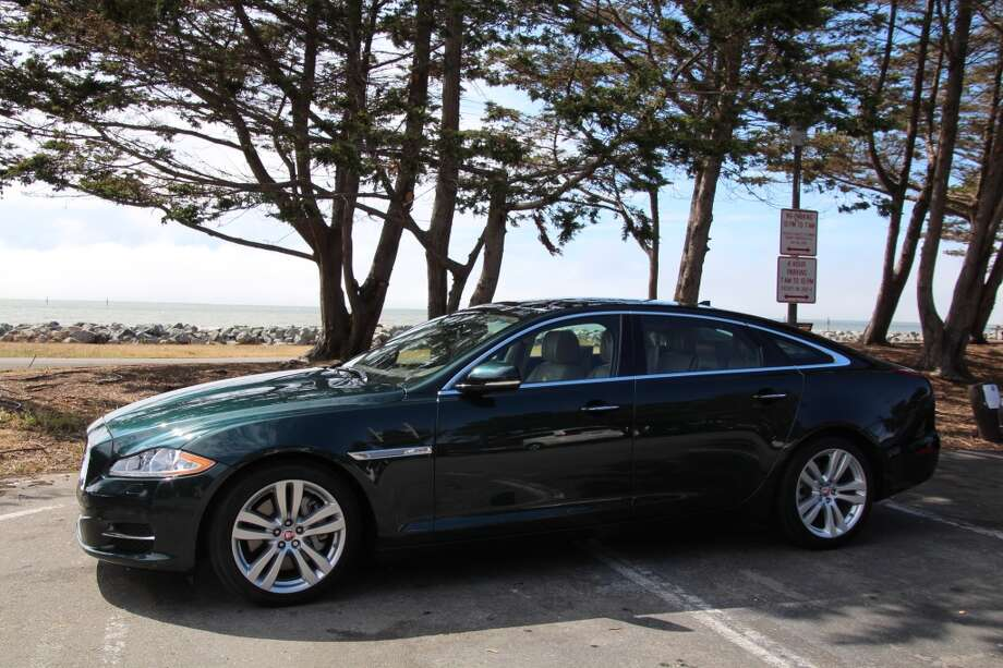 The 2015 Jaguar XJL Portfolio AWD sedan. Its retail price is $95,738. It gets 16/24 mpg, city/highway. (Photos by Michael Taylor)