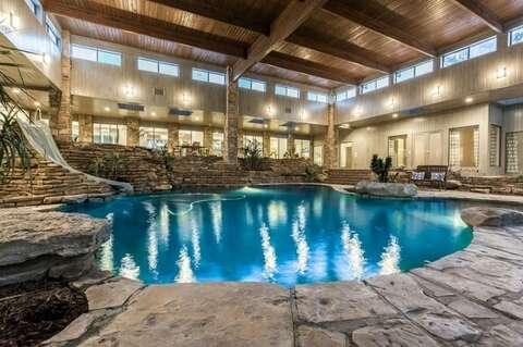 Beautiful Texas Homes With Massive Indoor Pools That Are Currently