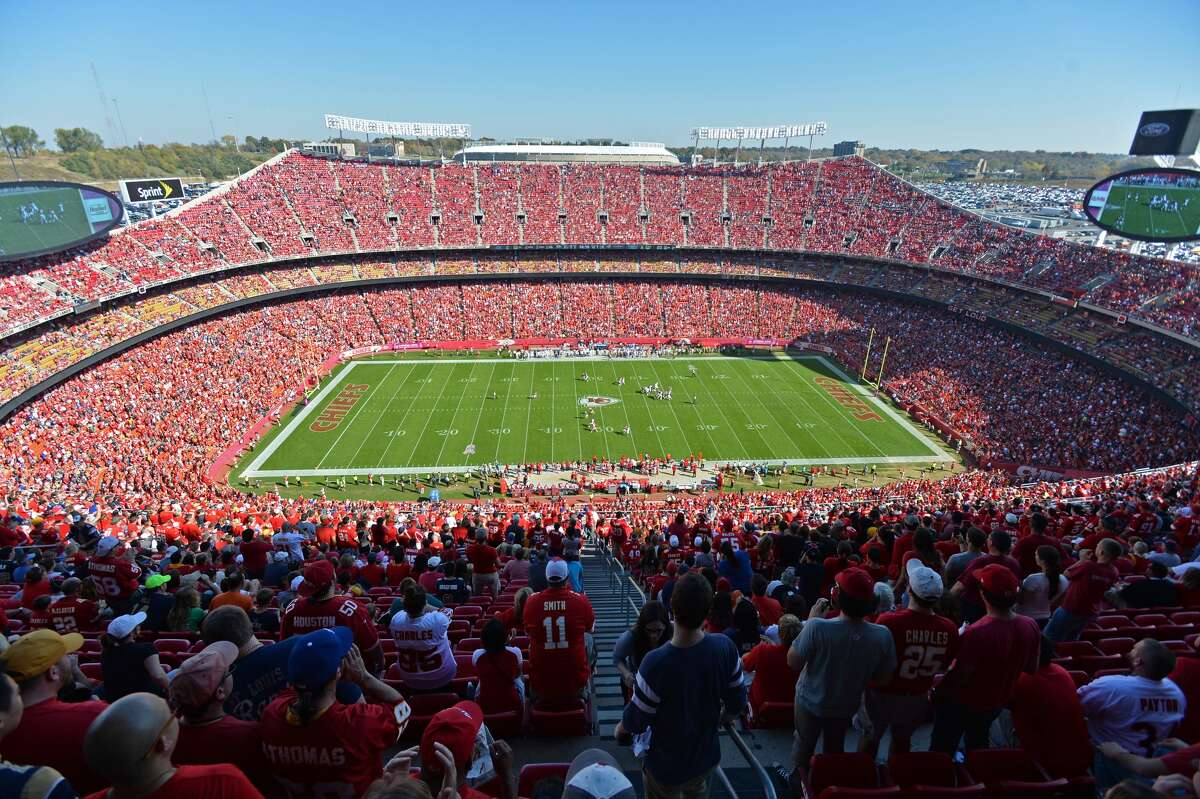 Arrowhead StadiumTenant: Kansas City Chiefs Capacity: 76,416 Opened: Aug. 12, 1972 Naming Rights: None Cost: $43 Million Public Financing: 100% Private Financing: None