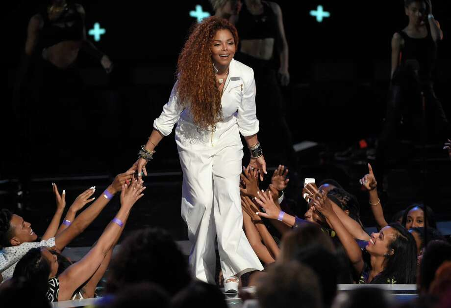 Janet Jackson accepts the ultimate icon: music dance visual award at the BET Awards at the Microsoft Theater on Sunday, June 28, 2015, in Los Angeles. (Photo by Chris Pizzello/Invision/AP) Photo: Chris Pizzello, Associated Press / Invision