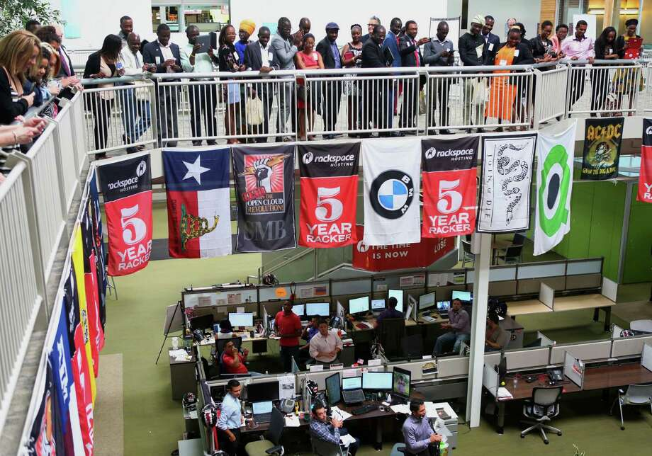Rackspace's deal to provide support for Microsoft Azure marks the San Antonio-based managed cloud company's first major contract to support public cloud services other than its own. Photo: Express-News File Photo / © 2014 San Antonio Express-News