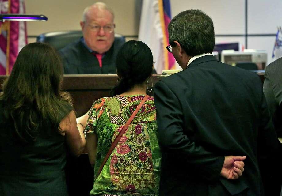 Bexar County Court-at-Law Judge Wayne Christian presides over the county's designated Veterans Treatment Court. Photo: Bob Owen /San Antonio Express-News / San Antonio Express-News