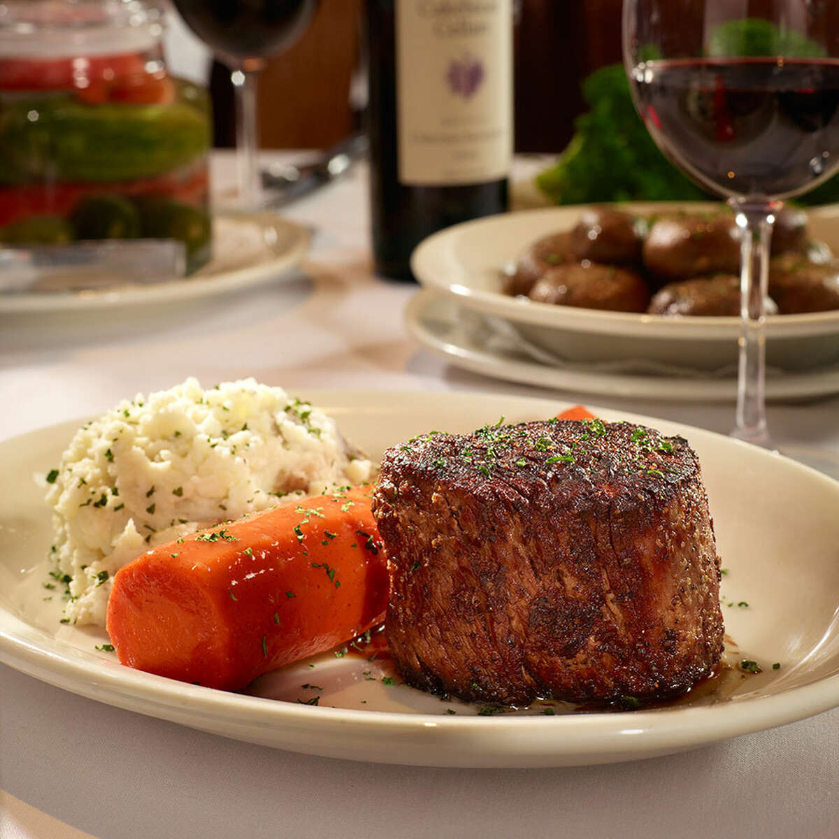 Bob's Steak & Chop House San Antonio*Received Best of Award of Excellence from Wine Spectator.