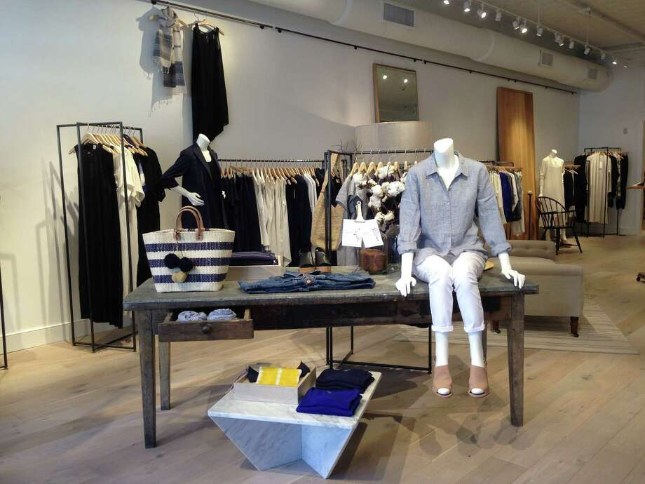 Eileen Fisher opened a second location in Fairfield County, also the second in all of Connecticut, on Greenwich Avenue at the end of June. Photo: Contributed Photo