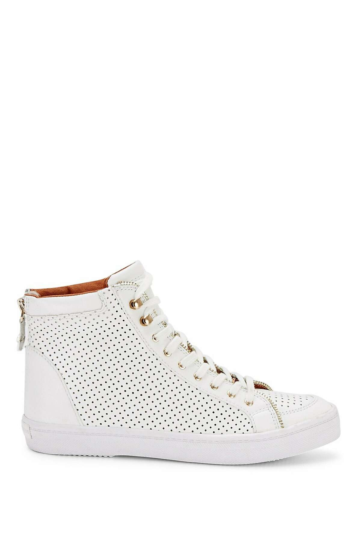Sandi Perforated Sneaker, Rebecca Minkoff $225, www.rebeccaminkoff.com