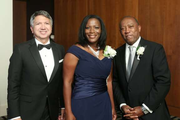 Ron Trevino, Marvelette Hunter and State Representative Sylvester Turner