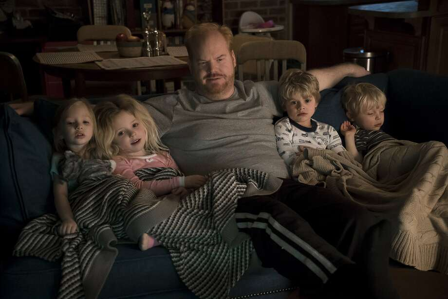 "Jim Gaffigan plays a version of himself, a stand-up comic with a wife and five kids, in ""The Jim Gaffigan Show."" Photo: Courtesy TV Land"