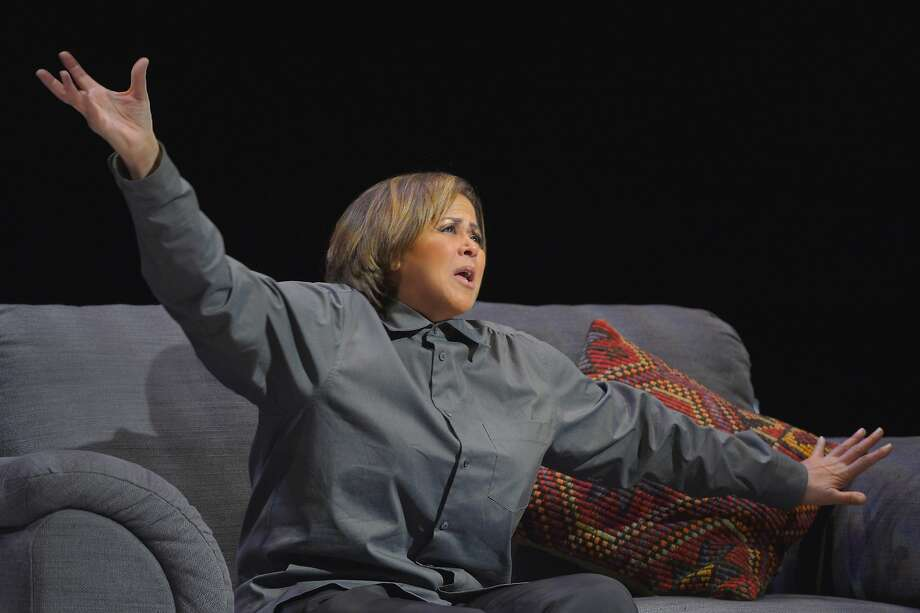 "Anna Deavere Smith in her one-woman multi-character show ""Notes from the Field: Doing Time in Education, The California Chapter"" at Berkeley Rep Photo: Kevinberne.com"