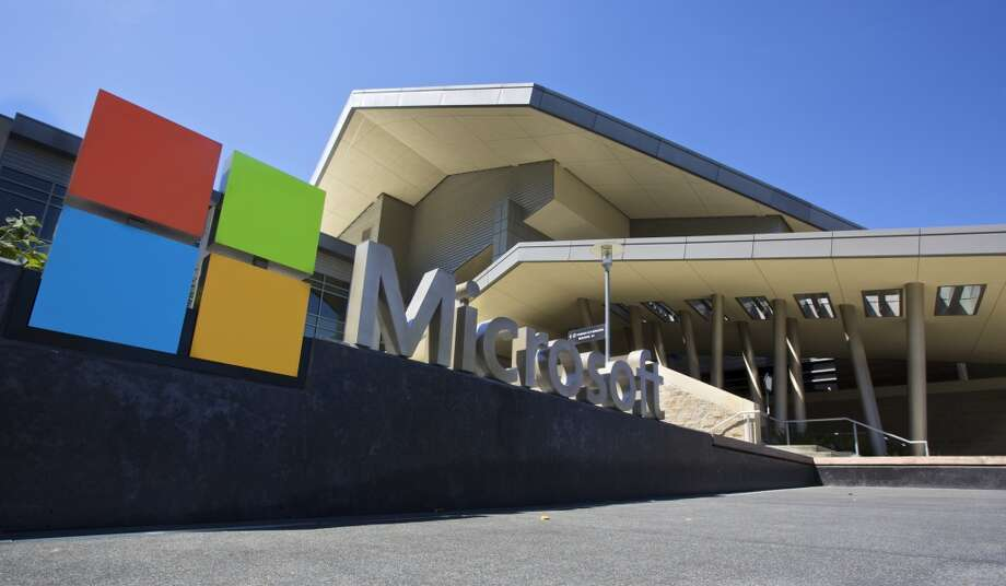 Two former Microsoft employees say they suffered irreparable  psychological harm after spending years viewing graphic and violent  content in their jobs as online safety monitors. Photo: Stephen Brashear, Getty Images