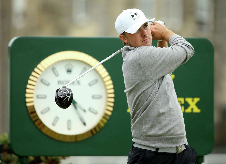 Does anybody really know what time it is? Probably not Jordan Spieth after he took a flight from the U.S. on Sunday night following his win in Illinois and started a practice round a few hours later. Photo: Andrew Redington, Staff / 2015 Getty Images
