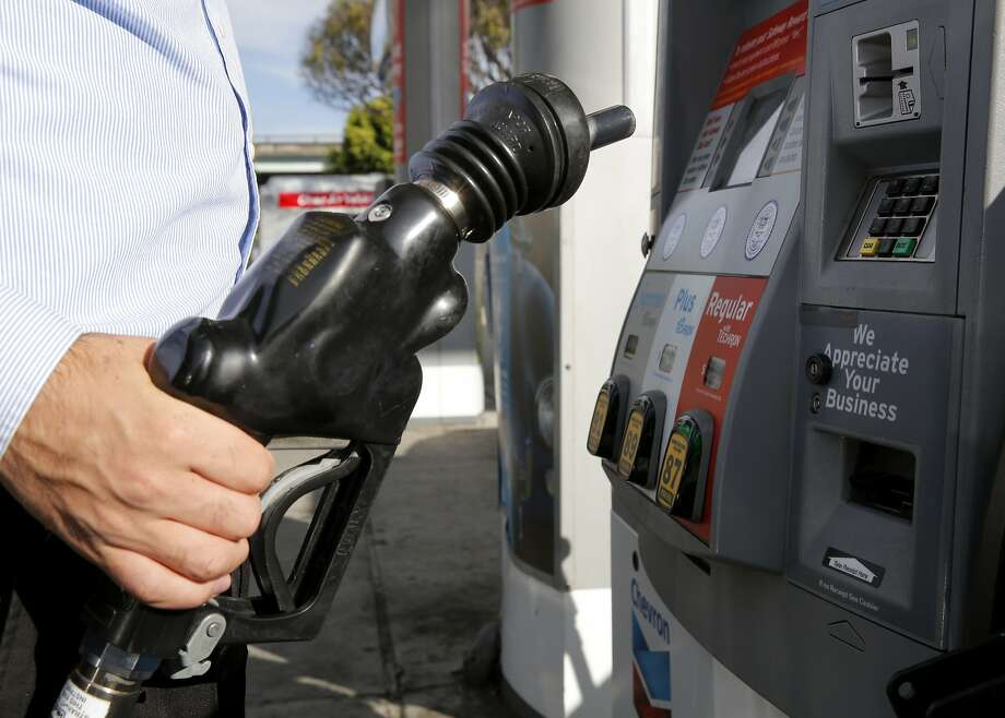 Taxes on gasoline in the Golden State tend to be among the country's highest. Photo: Connor Radnovich, The Chronicle