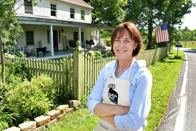 Former state Sen. Cecilia Tkaczyk outside her 19C. farm house Friday July 10, 2015 in Delanson, NY.  (John Carl D'Annibale / Times Union) Photo: John Carl D'Annibale / 00032551A
