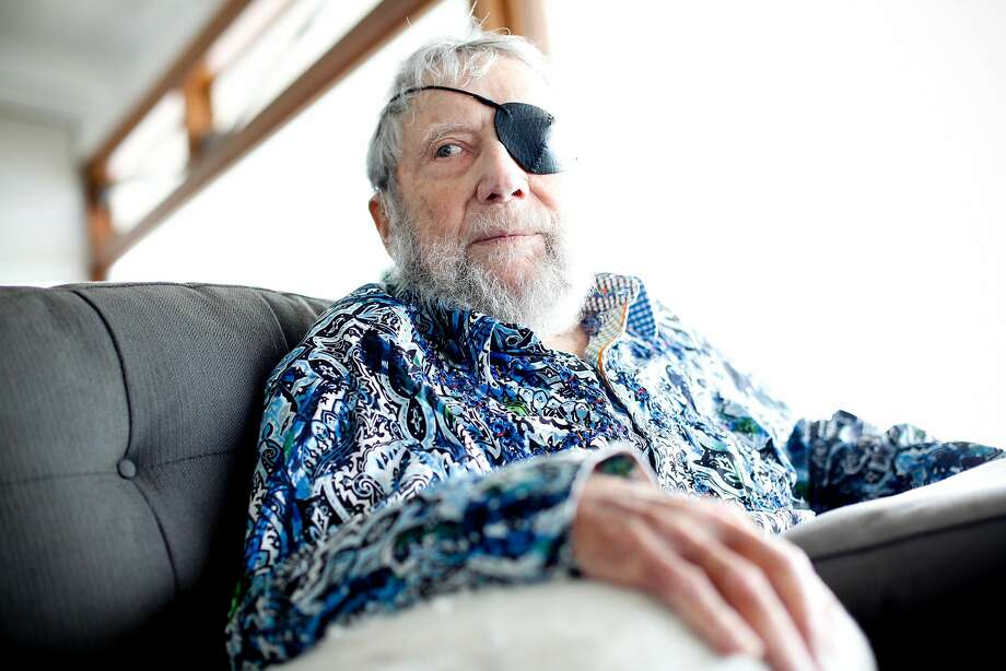 Jack O'Neill at his home in Santa Cruz in July. Photo: Sarah Rice, Special To The Chronicle