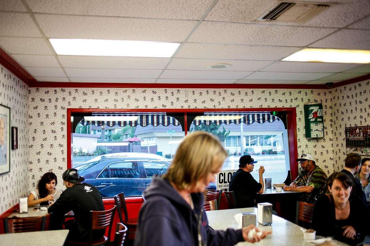 Marianne's Ice Cream in Santa Cruz, Calif., on Friday, July 3, 2015.
