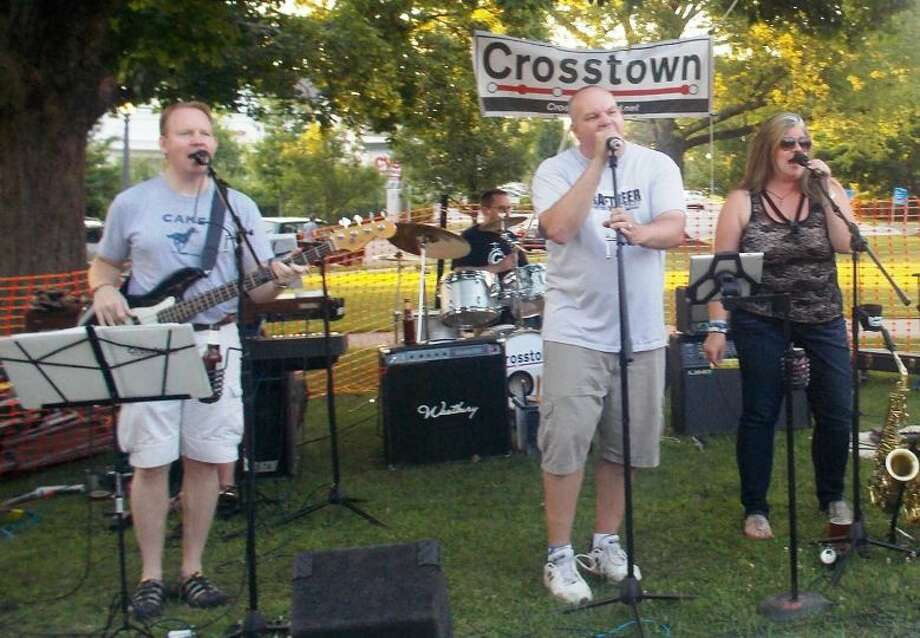 Crosstown is slated to perform at the 3rd annual Bethel Beer Fest this Friday, July 17. Photo: ANNIE M. DANCE / HEARST CONNECTICUT MEDIA GROUP