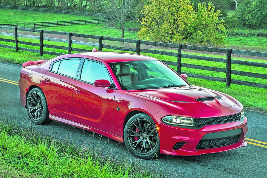 2015 Dodge Charger SRT Hellcat (photo courtesy Fiat Chrysler Automobiles) Photo: A.J. Mueller