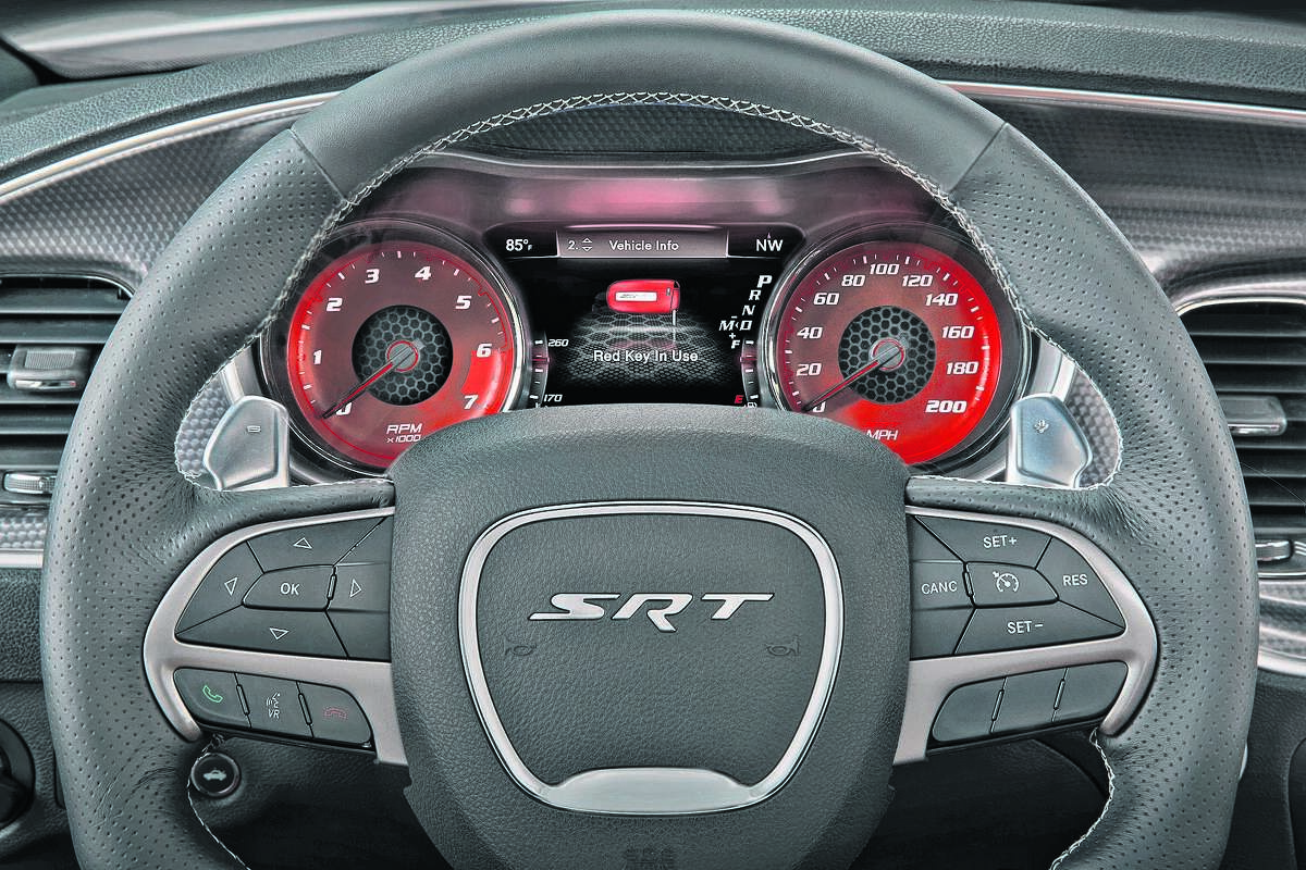 2015 Dodge Charger SRT Hellcat (photo courtesy Fiat Chrysler Automobiles)