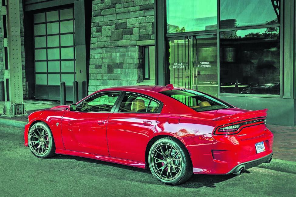 2015 Dodge Charger SRT Hellcat (photo courtesy Fiat Chrysler Automobiles)
